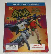 Batman Return of the Caped Crusaders Blu-Ray Steelbook, Target Exclusive, NEW