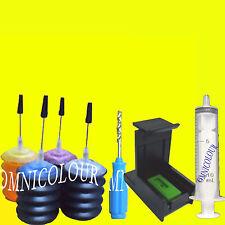 30ml x 4 recarga tinta para HP60 62 63 HP63 HP62 cartucho, estabilizador