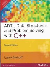 ADTs, Data Structures, and Problem Solving with C++, 1st Edition by Nyhoff