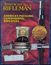 Magazine American Rifleman, FEBRUARY 1981 !WALTHER GSP-C PISTOL, BERETTA BM-62!