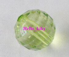 30 pcs Pale green  Round Acrylic beads 16mm M1434