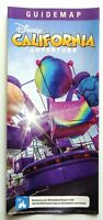 Sep 2019 Guide Map Disney California Adventure Inside Out Emotional Whirlwind