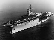 Uss Saratoga 8X10 Photo Navy Us Usa Military Aircraft Carrier Picture B/W
