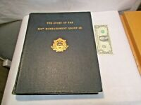 1947 The Story of the 390th Bombardment Group Unit WWII History 8th USAAF Book