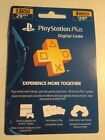 Sony PlayStation Plus Card  PS Plus 3 Month  PS3 / PS4 / PS5 / PS VITA NEW