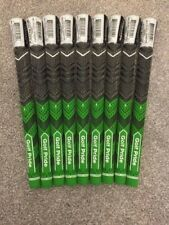 MCC Plus 4 Gents Golf Grips x 9 inc Tape & Fitting Instructions Colour GREEN NEW