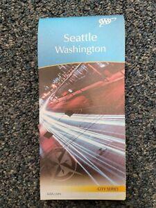 AAA Road Map of Seattle, Washington.