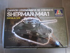 KIT CONSTRUCCION TANQUE SHERMAN M4A1 ESCALA 1/35 ITALERI