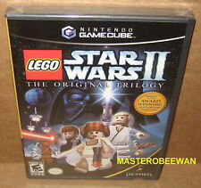 Lego Star Wars II: The Original Trilogy Black Label New Sealed Gamecube GC & Wii
