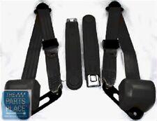 1978-87 Chevrolet El Camino Retractable OE Style Bucket Seat Belts - Black