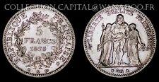 5 Francs Hercule 1875 K Bordeaux Argent
