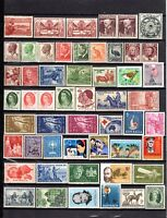 1927 to 1965 ***MUH*** 53 ASSORTED STAMPS - Pre Decimal - SUPERB.