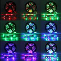 10M 3528 SMD RGB 600 LED Strip Light String Tape + 44 Key IR Remote Control Lamp