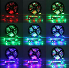 10M 3528 SMD RGB 600 LED Strip Light String Tape + 44 Key IR Remote Control Lamp