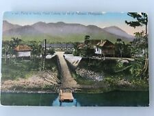 PHILIPPINES POSTCARD FERRY AT IWAHIG PENAL COLONY PRISON PALAWAN 1131