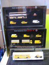 """Wiking 1:87 3 verschiedene Sets Post Museums Shop Modelle """"Neu""""(339W)"""