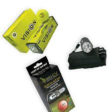 Spaßpaket- From Dusk Till Dawn- Golfbälle Gelb LED Golfballfinder Soft Lakeballs