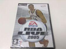 NBA LIVE 2005  . Dvd-Rom España .. Envio Certificado ...Paypal