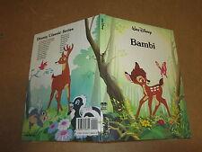 CARTONATO WALT DISNEY BAMBI TWIN BOOKS IN INGLESE PARI AL NUOVO 1989