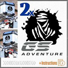 2pz Adesivi Compatibile Dakar GS Adventure BMW R 1250 1200 1150 F 800 700 650
