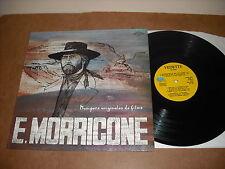 ENNIO MORRICONE  - MUSIQUES ORIGINALES DE FILMS  - LP BELGE VEDETTE - OST