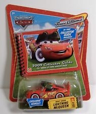 NIGHT VISION LIGHTNING MCQUEEN DISNEY CARS RACE O RAMA DIE-CAST PIXAR MOSC #109