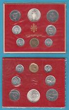 VATICANO PAOLO VI SERIE DI ZECCA COMPLETA 1976 ANNO XIV FDC UNC CON 500 ARGENTO
