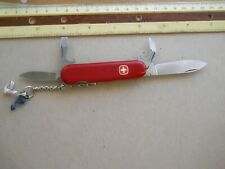 Wenger Viking Swiss Army knife in red -  no slots fpr pick and tweezers