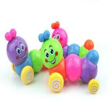 Kids Baby Developmental Educational Toy Cute Colorful Caterpillar Wind-up -6A