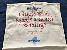 St. Louis Cardinals Cubs Sports Towel (Golf) Sga Busch Stadium Ii Final Season