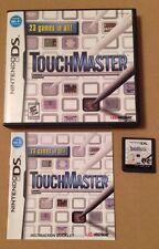 GIOCO MASTER Touch Per DS DSI DS LITE 3ds NINTENDO COMPLETA ** 99p UK P & P **