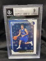 LUKA DONCIC 2018-19 NBA HOOPS #268 ROOKIE BGS 9 MINT DALLAS MAVERICKS WINTER R44