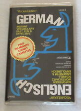 VocabuLearn German Level I Cassette Tape Set Instant Vocabulary English/German L