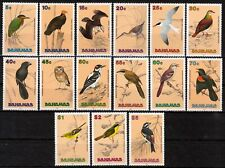Bahamas MiNr. 737/51 ** Freimarken: Vögel