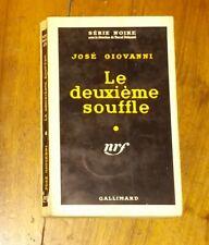 Série Noire N°414 - José Giovanni - Le Deuxième Souffle - NRF - 1958