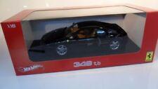 Ferrari 348 TB negro en escala 1:18 de Hot Wheels mattel (24002)