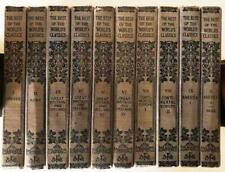 THE-BEST-OF-THE-WORLDS-CLASSICS-10-Volumes-1909 HENRY CABOT LODGE, EDITOR