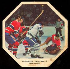 1967-68 York Octagons Hockey NO# Walton Laperriere vs Rogatien Vachon Canadiens