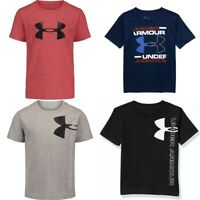 New Under Armour Little Boys Short Sleeve Shirt Choose Size and Color MSRP $18