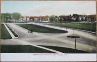 East Orange, NJ 1905 Postcard: Essex County Boulevard - New Jersey