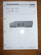 Service Manual Grundig T 12  Fine Arts Tuner,ORIGINAL