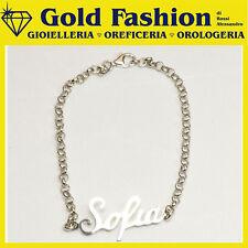 Bracciale in argento tit 925 - mio nome - catena in argento