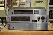 Carver Trio Preamp C-1 Power Amp M-1.0t & Tuner TX-2 - 1 Owner - Excellent Cond