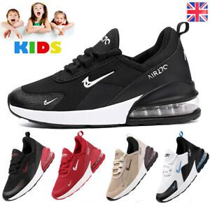 Boys Girls Trainers Kids Running Shoes Children Comfort Sports School Size Mesh