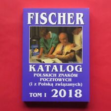 FISCHER 2018 - Poland catalogue of stamps -- Polen Briefmarken Katalog catalog