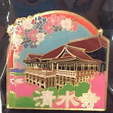 F/S Kiyomizu Temple Pin Badge from Kyoto Japan