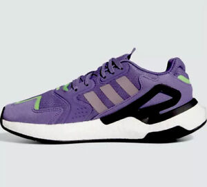 Adidas Day Jogger Originals women's sneakers shoes size 10 purple/green FW4827