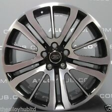 """ORIGINALE Range Rover Sport HST/se Lucido/Nero 15 ha parlato cerchi in lega da 20"""" pollici X4"""