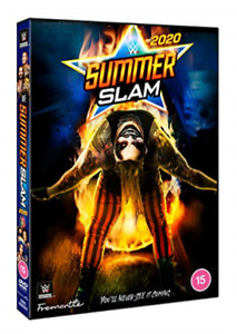 Wwe Summerslam 2020 DVD NEW