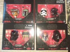 star wars the black series titanium series lot of 4